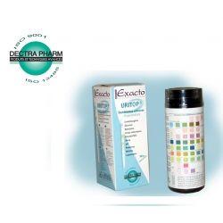 Šlapimo tyrimų juostelės DECTRA PHARM Exacto Uritop N50 (50 vnt) - 1