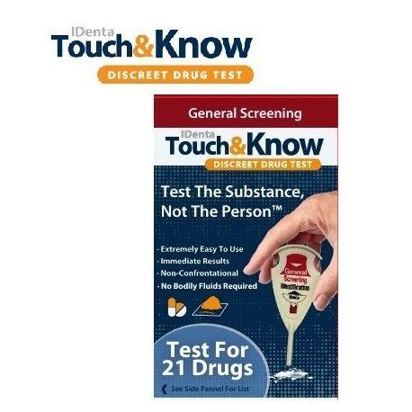 Bendras narkotinių medžiagų aptikimo testas iDenta - 1