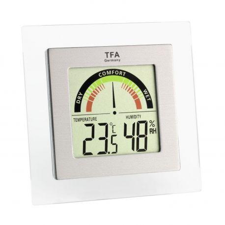 Skaitmeninis termometras - drėgmės matuoklis TFA 30.5023