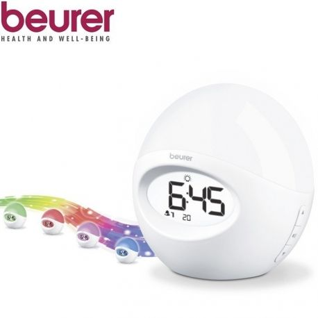 Šviesos žadintuvas - radijas Beurer WL32 - 1