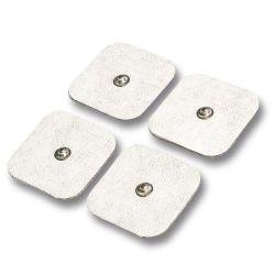 Pakaitiniai 45x45mm elektrodų padukai Beurer elektrostimuliatoriams (8 vnt.) - 1