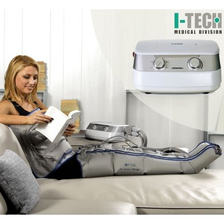 Presoterapijos (limfodrenažinio masažo) aparatas I-TECH I-PRESS 4 TOT - 1