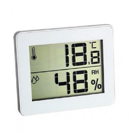 Skaitmeninis termometras - drėgmės matuoklis TFA 30.5027.02 - 1