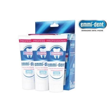 Emmi-dent dantų pasta MILD (3 x 75ml)