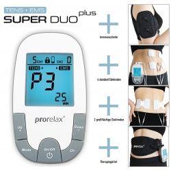 TENS/EMS elektrostimuliatorius ProRelax SuperDuo Plus