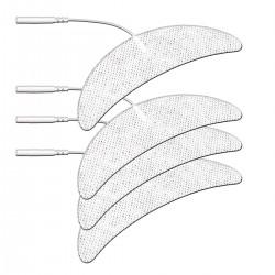 Pakaitiniai mėnulio (keliams) formos elektrodai ProRelax elektrostimuliatoriams (4vnt.)