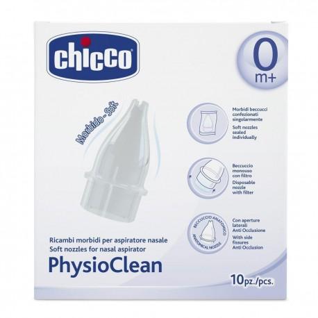 Vienkartiniai filtrai nosies aspiratoriui CHICCO PhysioClean