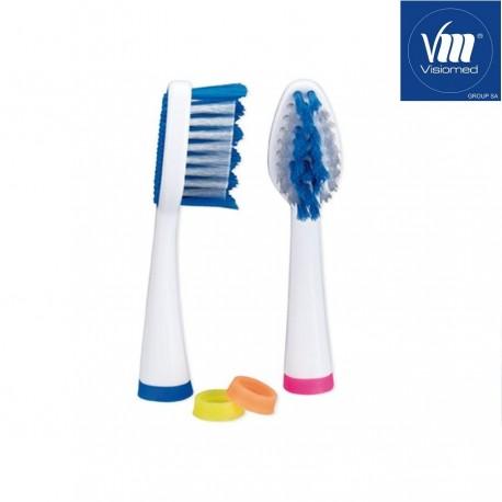 Antgaliai (Soft) dantų šepetėliui Visiomed ProSonic Micro 2