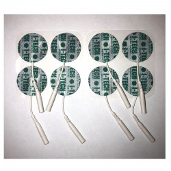Pakaitiniai apvalūs 30 mm skersmens elektrodai I-TECH elektrostimuliatoriams (8 vnt.)
