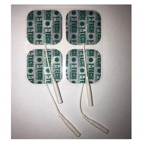 Pakaitiniai 41x41mm elektrodai I-TECH elektrostimuliatoriams (4 vnt.)