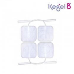 Pakaitiniai 40x40mm elektrodai Kegel8 elektrostimuliatoriams (4vnt.)