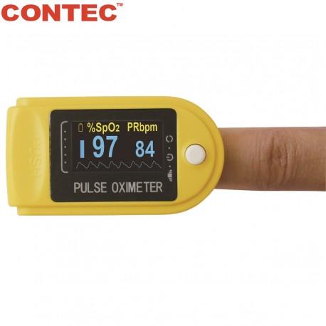 Piršto pulsoksimetras Contec CMS50D