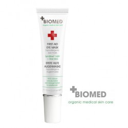 Pirmosios pagalbos paakių kaukė BIOMED First Aid Eye Mask