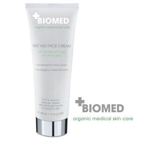 Pirmosios pagalbos kremas veidui BIOMED First Aid Cream - 1