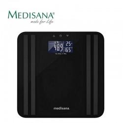 Kūno masę analizuojančios svarstyklės Medisana BS 465 Black