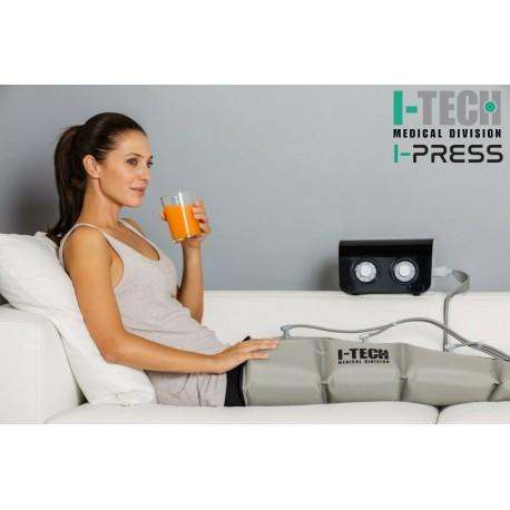 Presoterapijos (limfodrenažinio masažo) aparatas I-TECH I-PRESS LEG2, M dydis