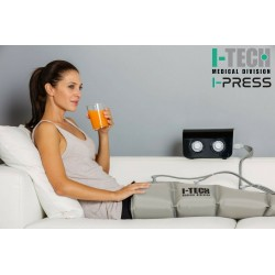 Presoterapijos (limfodrenažinio masažo) aparatas I-TECH I-PRESS LEG2, L dydis