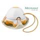 Rankinis masažuoklis su natūralaus plaušo kempinėle Medisana HM 840 (oranžinis) - 1