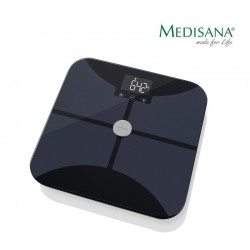 Kūno masę analizuojančios svarstyklės su Bluetooth ir WiFi funkcija Medisana BS 650 Connect