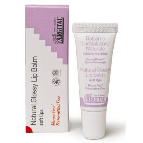 Natūralus lūpų balzamas – blizgesys ARGITAL 10 ml