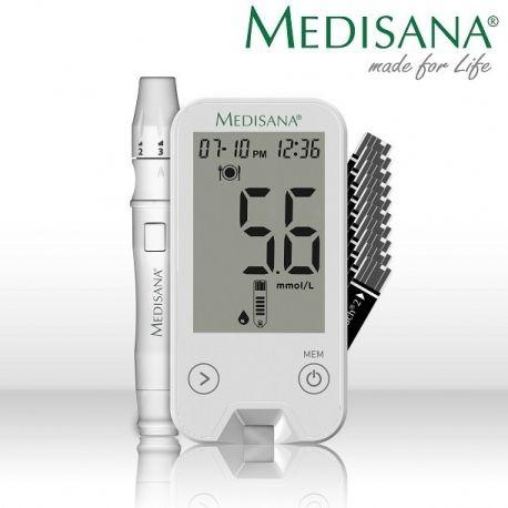 Gliukozės kiekio kraujyje matuoklis Medisana MediTouch 2 - 1