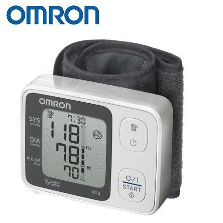 Riešinis kraujospūdžio matuoklis OMRON RS3 - 1